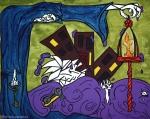 Liria Varne Artist - | Obra selecionada para o 1º Salão de Outono da América França-Brasil