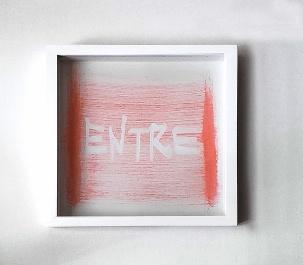 2016_147 - Série Eu Vi Mira - 26x25cm - Acrilico sobre papel -2016©